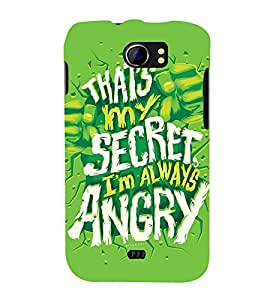 QUOTE DEPICTING THE ATTITUDE 3D Hard Polycarbonate Designer Back Case Cover for Micromax Canvas 2 A110::Micromax Canvas 2 Plus A110Q