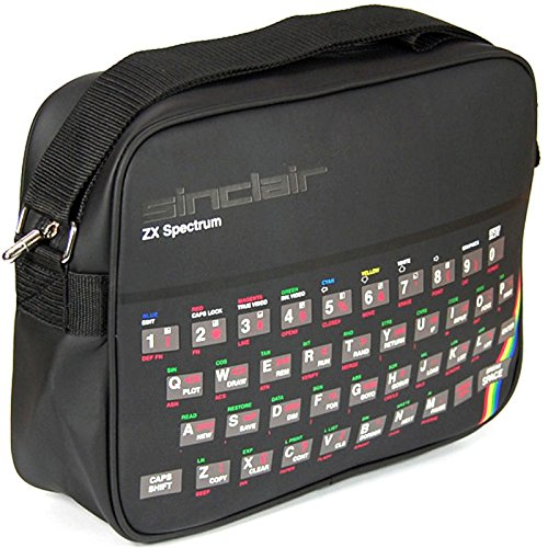 Sinclair ZX Spectrum Sports Bag. Looks just like the orginal 80s home computer.