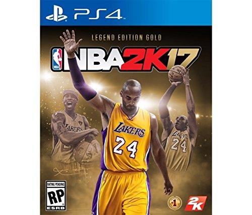NBA 2K17 Legend Edition Gold PlayStation 4 オーディンスフィアストーリーブック版 ビデオゲーム+コレクションカード(スポーツ) 北米英語版 [並行輸入品]
