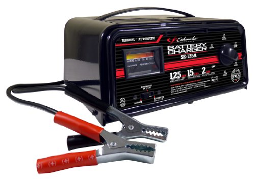 Schumacher SE-125A Automatic / Manual Battery Charger with Engine Start