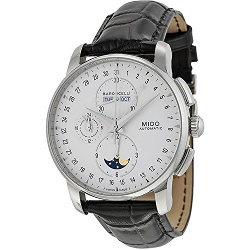 mido-mens-baroncelli-38mm-leather-band-steel-case-automatic-watch-m86074m142
