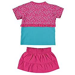 The Dutch Design Bakery Kid's Pink Color Skirt