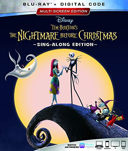 Blu-ray : The Nightmare Before Christmas (25th Anniversary Edition) (Anniversary Edition, Dolby, AC-3, Subtitled, Digital Copy)