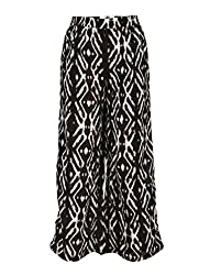Chicabelle Girls' Palazzo Pants (CH-31B_Multi_10-12 Years)