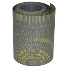 "Kimberly Clark Jackson Safety 14763 Wrap-A-Round, Medium, 4' Length x 3-7/8"" Width, Gray"