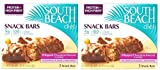 South Beach Diet Snack Bars- Whipped Chocolate Almond- 5 Bars (Pack of 2)