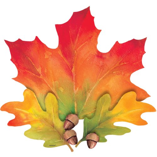 cutout 15 inches fall leaves - 1