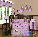 Boutique Animal Kingdom 13PCS CRIB BEDDING SET