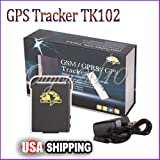 Quad Band Mini Realtime SPY Personal GPS Tracker TK102B