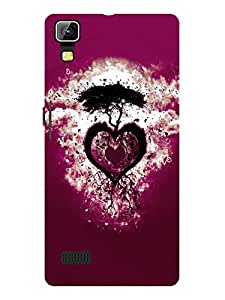 TREECASE Designer Printed Soft SIlicone Back Case Cover For Lava Flair S1