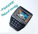 Avatar Dual Card Dual Standby 1.3 inch mobile phone wrist watch (bluetooth, mp3/mp4 player, phone, gadget),Support 2 SIM Card!!