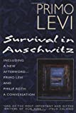 Survival in Auschwitz (0684826801) by Primo Levi
