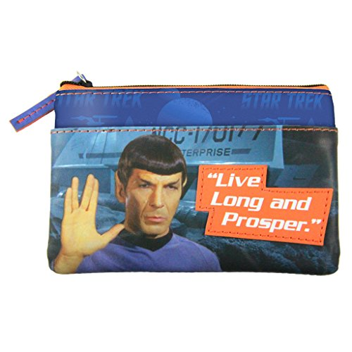 Star Trek Spock Graphic Coin Purse by The Coop - 1