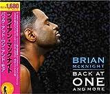 echange, troc Brian Mcknight - Back at One & More