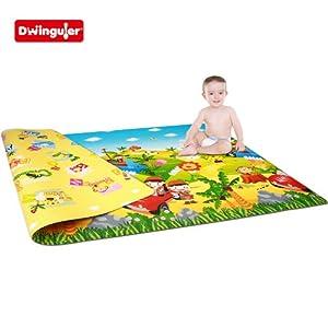 Dwinguler Eco-friendly Kids Play Mat - Safari Tour (Large)  Dwinguler Eco-friendly Kids Play Mat