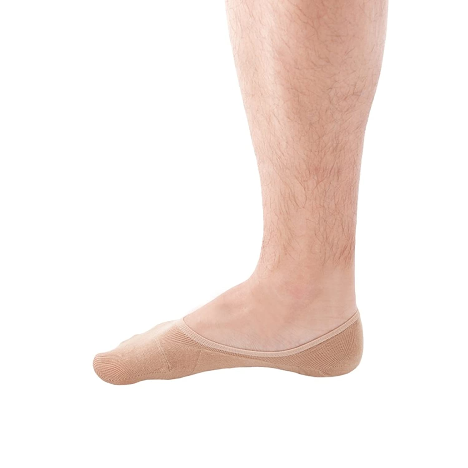 SHEEC - SoleHugger ACTIVE - No-Show Hidden Socks for Men *Non-Slip*