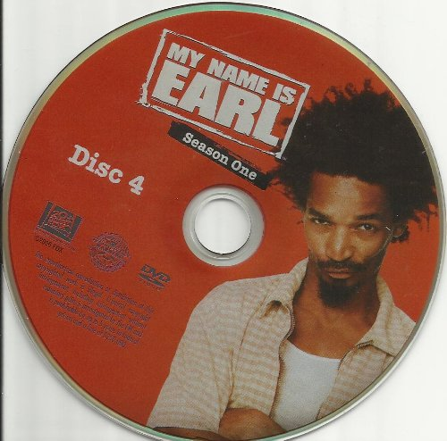 My Name is Earl Season 1 Disc 4 Replacement Disc!