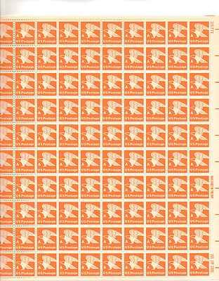 US Postage Eagle Sheet of 100 x 15 Cent US Postage Stamps NEW Scot 1735