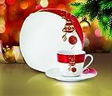 Kaffeeservice Magic Christmas 18tlg. für 6 Personen weiß...