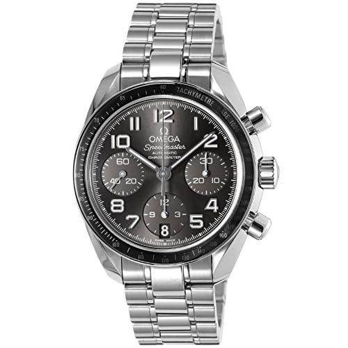 [オメガ]OMEGA 腕時計 スピードマスター グレー文字盤 自動巻  324.30.38.40.06.001  【並行輸入品】