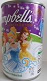 Campbell's Healthy Kids Fun Shapes Disney Princess Soup Noodles in Chicken Broth pack of 6