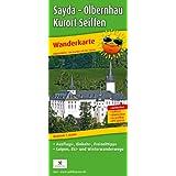 Wanderkarte Sayda - Olbernhau - Kurort Seiffen: mit Ausflugs-, Einkehr- & Freizeittipps, Loipen, Ski- und Winterwanderwegen, wetterfest, reissfest, abwischbar, GPS-genau. 1:25000