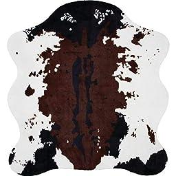 Classic Safari Cow Print Rug, 56 x 61\