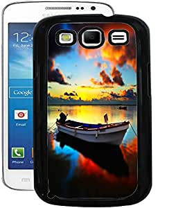 ColourCraft Beautiful Boat Design Back Case Cover for SAMSUNG GALAXY S3 I9300 / I9305