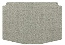 Intro-Tech Designer Cargo Area Custom Floor Mat for Select Jaguar X-Type Models - Carpet (Dove Gray)