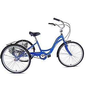Adult aluminum three wheel bicycle