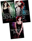 Jaye Wells Jaye Wells Sabina Kane 3 Books Collection Pack Set RRP: £25.55 (The Mage in Black, Green-Eyed Demon, Red-headed Stepchild)