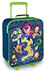 Disney Toy Story 3 Rolling Luggage Suitcase Woody Lotso Buzz Lightyear Bullseye