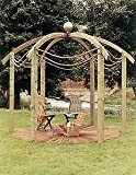 Grange Fencing Ltd Jac Flower Domed Pergola
