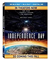 Independence Day: Resurgence [3D Blu-ray] from 20th Century Fox