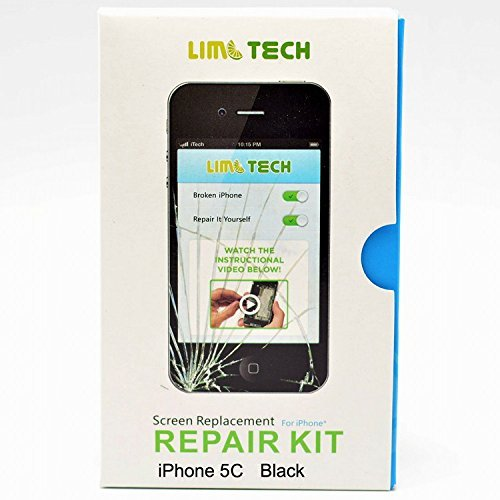 Front Panel Touch Screen Digitizer Lcd Display Assembly For Apple Iphone 5C White