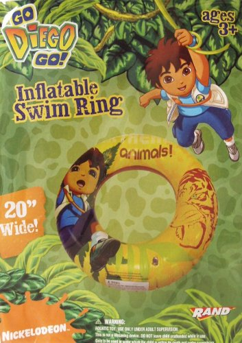 Go Diego Go! Inflatable Swim Ring - 1