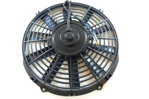 "Racer Performance 10"" High Performance Electric Radiator Cooling Fan - Flat Blade"