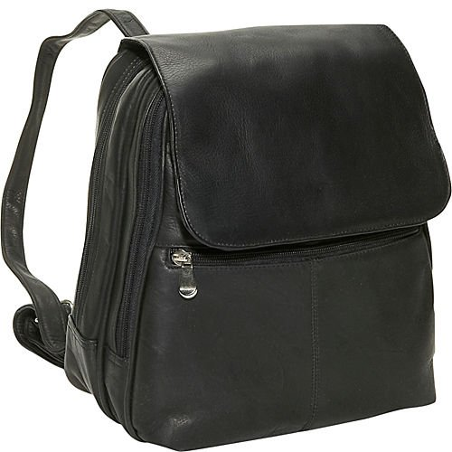 B002H85PTY David King & Co. Women's Organizer Backpack, Black, One Size
