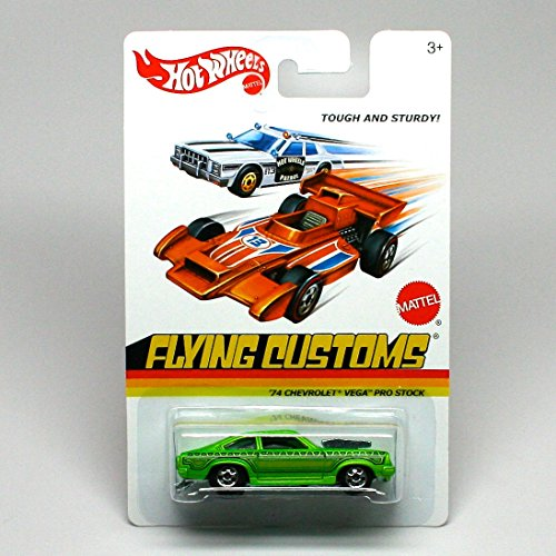 Hot Wheels 2013 Flying Customs '74 Chevrolet Vega Pro Stock 1:64 Scale - 1