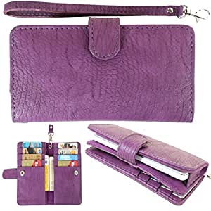 DooDa PU Leather Pouch Case Cover With Magnetic Closure For Sony Xperia T2 Ultra / T2 Ultra Dual