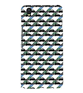Vizagbeats Collection of Cars Back Case Cover for ONEPLUS X