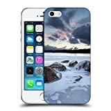 Super Galaxy Soft Flexible TPU Slim Fit Cover Case // F00003551 Halifax Ice Long Lake NS Nova Scotia // Apple iPhone 5 5S 5G SE