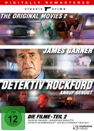 Detektiv Rockford - Anruf genügt - Die Filme - Teil 2 (4 DVDs)