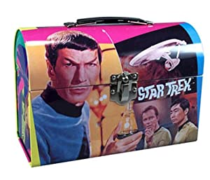 AMT Star Trek Mr. Spock Model Kit Lunch Box Tin