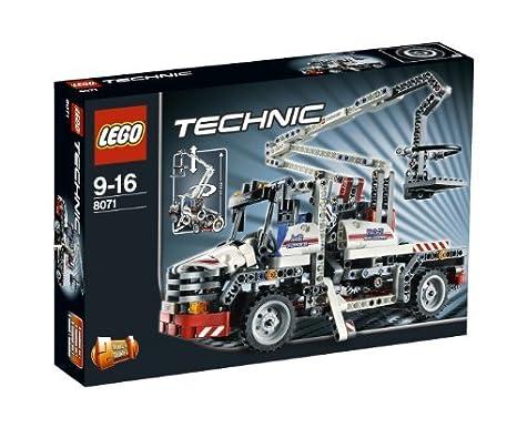 LEGO Technic - 8071 - Jeu de Construction - Le Camion-Nacelle