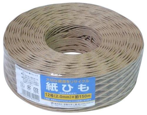 宮島化学工業 紙ひも 12号約150m Y019