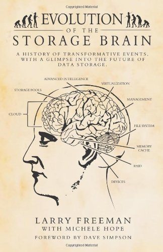 Evolution Of The Storage Brain: A History Of Transformative Events, With A Glimpse Into The Future Of Data Storage.