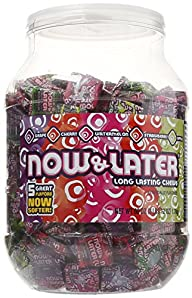 Now & Later Classic Candy Tub (3lbs 1…