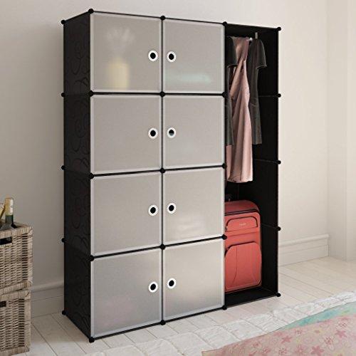 armario-modular-con-9-compartimentos-blanco-y-negro-37-x-115-x-150-cm