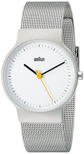 Braun Damen-Armbanduhr Analog Quarz Edelstahl BN0211WHSLMHL